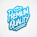 Free Premium Quality Label Lettering Stock Image - 35762031