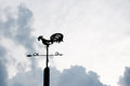 Free Weather Vane On Royalty Free Stock Images - 35766279