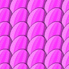 Free Seamless Pattern Of Eggs With Curl Stock Images - 35762194
