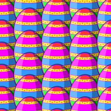 Free Egg Striped Pattern Stock Image - 35763061