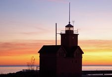 Free Holland Lighthouse Royalty Free Stock Photography - 35763737