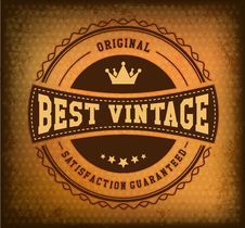 Free Retro Vintage Badge Stock Images - 35765334