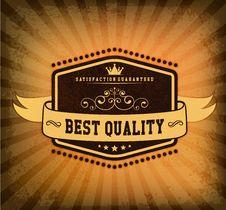 Free Retro Vintage Badge Royalty Free Stock Photography - 35765337