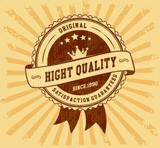 Free Retro Vintage Badge Stock Photos - 35765363