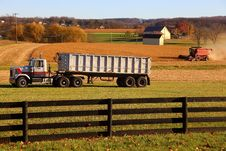 Free Harvest In Lancaster County, Pennsylvania Royalty Free Stock Photos - 35766388