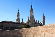 Free Pilar Basilica Stock Images - 35770244