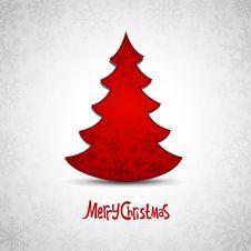 Free Red Christmas Tree Stock Image - 35770741