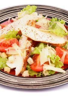Free Caesar Salad Royalty Free Stock Photo - 35771095