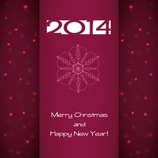 Free New Year Card Stock Photo - 35771650