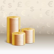 Free Stack Of Money Stock Photography - 35771682