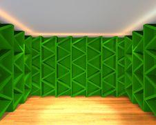 Abstract Color Green Wall Interior Design Royalty Free Stock Photo