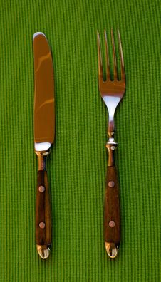 Free Knife And Fork Royalty Free Stock Image - 35773686