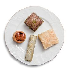 Free Turkish Baklava Royalty Free Stock Photography - 35773737