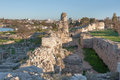 Free The Ruins Of The Ancient City Of In Chersonese Stock Photo - 35789900