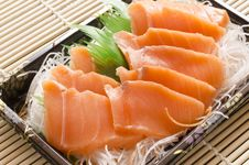 Free Salmon For Sushi Royalty Free Stock Images - 35784309