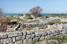 Free The Ruins Of The Ancient City Of In Chersonese Stock Images - 35786234