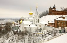 Free Winter December View Of Church Elijah The Prophet And Kremlin Royalty Free Stock Images - 35787239