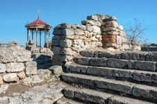 Free The Ruins Of The Ancient City Of In Chersonese Stock Images - 35787844