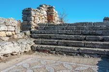 Free The Ruins Of The Ancient City Of In Chersonese Royalty Free Stock Photos - 35787848