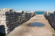Free The Ruins Of The Ancient City Of In Chersonese Stock Photos - 35788573