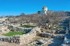 Free The Ruins Of The Ancient City Of In Chersonese Stock Photography - 35789102