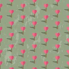 Free Valentines Day Pattern Royalty Free Stock Images - 35789709