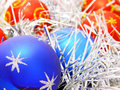 Free Blue And Red Decoration Balls Royalty Free Stock Image - 3580866