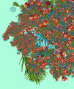 Free Green Fur, Red Flowers... Royalty Free Stock Photos - 3582498