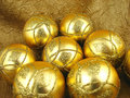 Free Gold Bulbs Royalty Free Stock Image - 3585916