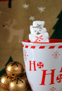 Free Marshmallow Snowman Stock Image - 3586451