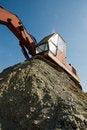 Free Reaching Excavator Royalty Free Stock Image - 3588806