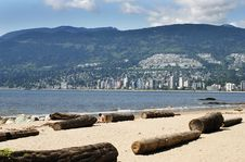 Free Stanley S Park Beach Stock Image - 3580491