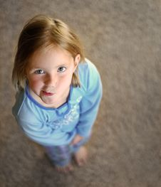 Free Little Girl Portrait Royalty Free Stock Images - 3580609