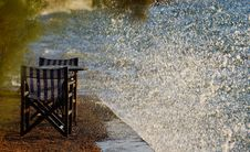Free Tables And Waves Splash Royalty Free Stock Photography - 3580757