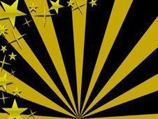 Free Sunbeam And Stars Royalty Free Stock Photo - 3581115