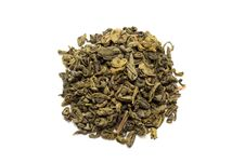Heap Of Jasmine Green Tea Stock Photography