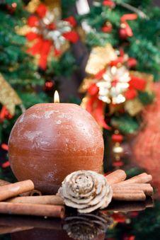 Free Christmas Poscard Royalty Free Stock Images - 3581389