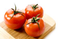 Free Fresh Tomatoes Royalty Free Stock Photo - 3581915