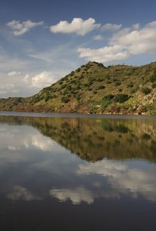 Free Landscape In River Guadiana Royalty Free Stock Images - 3581959