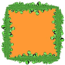 Free Abstract Green Frame Stock Images - 3582454