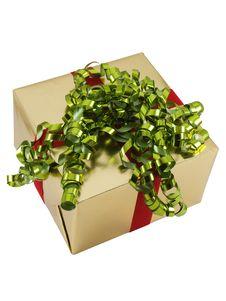 Free Christmas Present Royalty Free Stock Image - 3584276