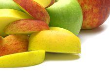 Free Fresh Apples Royalty Free Stock Image - 3584306