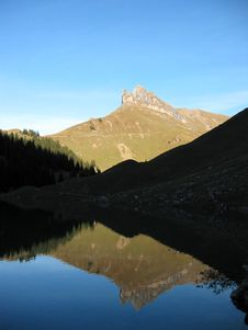 Free Alpine Lake Royalty Free Stock Image - 3584496