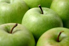 Free Green Apples Royalty Free Stock Image - 3584646