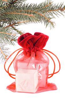 Free X-mas Gift Stock Image - 3584911