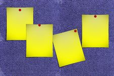 Free Post-it Notes Stock Photo - 3584980