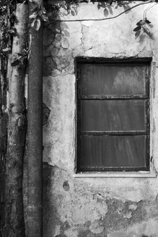 Free Old Window Royalty Free Stock Photography - 3584987