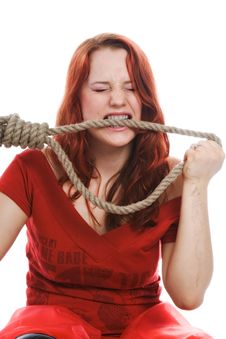 Suicide Royalty Free Stock Photos