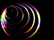 Free Rainbow Rings Royalty Free Stock Photo - 3585265