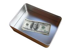 Free Money In A Box. Stock Images - 3585944